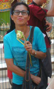 Charanya freut sich auf Ihren Besuch